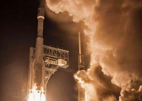 Ракета Atlas V запущена 15.10.17