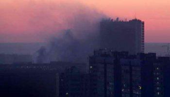 Крупный пожар в здании Службы внешней разведки 3 погибло, 7 госпитализированы