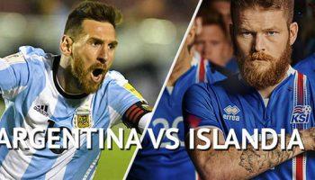 Аргентина – Исландия 16.06.2018. Прямая трансляция