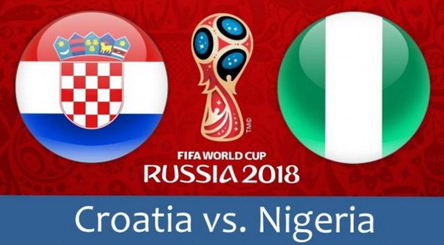 Хорватия - Нигерия 16.06.2018. Прямая трансляция