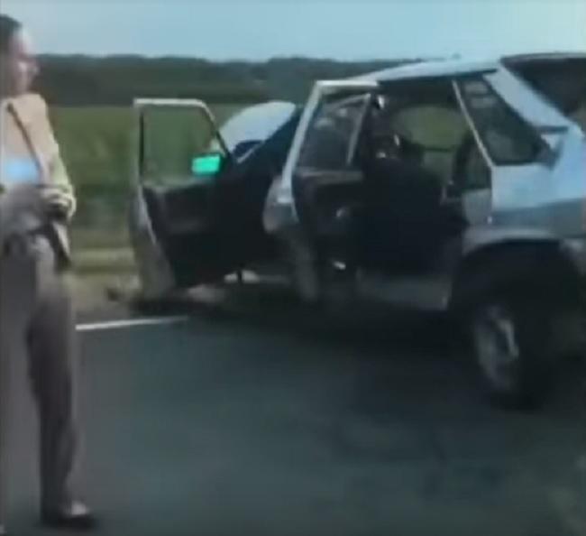 Видео ДТП в Белореченском районе Краснодарского края