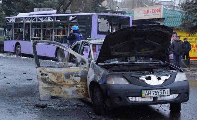 Боевик «ДНР» Денис Лотов признался кто взорвал троллейбус в Донецке в 2015 году