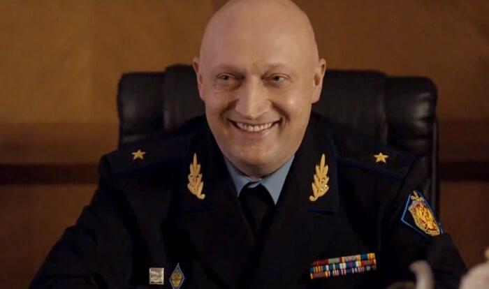 Гоша Куценко сыграль роль главного полицейского
