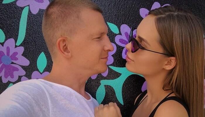 Певица Ханна и Павел Курьянов