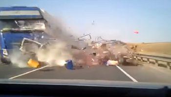 Видео с ДТП в Самарской области где погибло 5 человек попало в Интернет