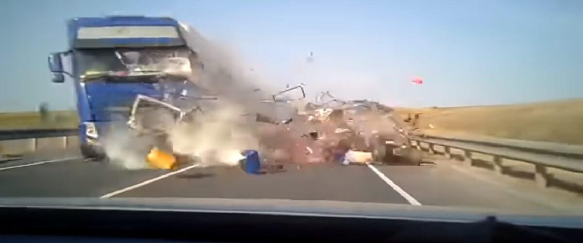 Cтрашное ДТП в Самарской области