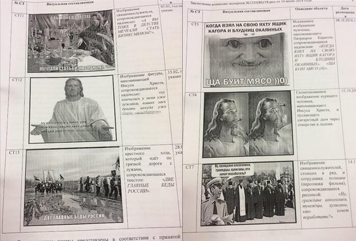 Картинки за которые судят Марию Мотузную