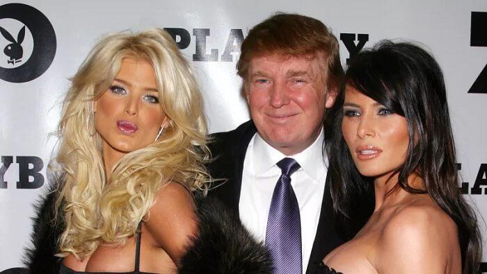 Дональд Трамп и его женщины
