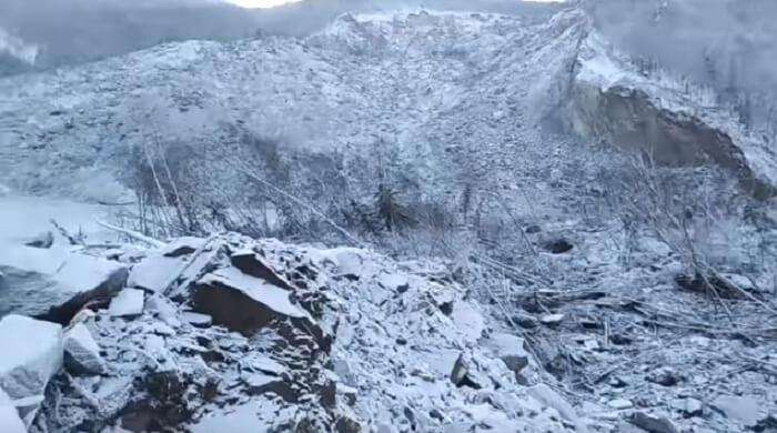 Падение метеорита в Хабаровском крае