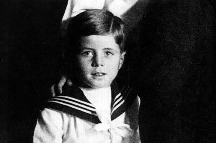 Джон Фицджеральд Кеннеди в детстве