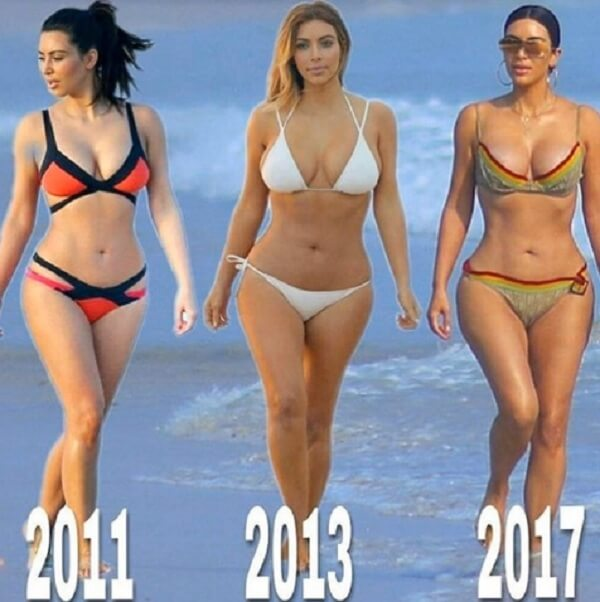 Ким Кардашьян пластика груди