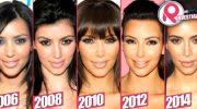 Параметры фигуры Ким Кардашьян: рост, вес, пластика