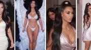 Ким Кардашьян до и после пластических операций: фото звезды
