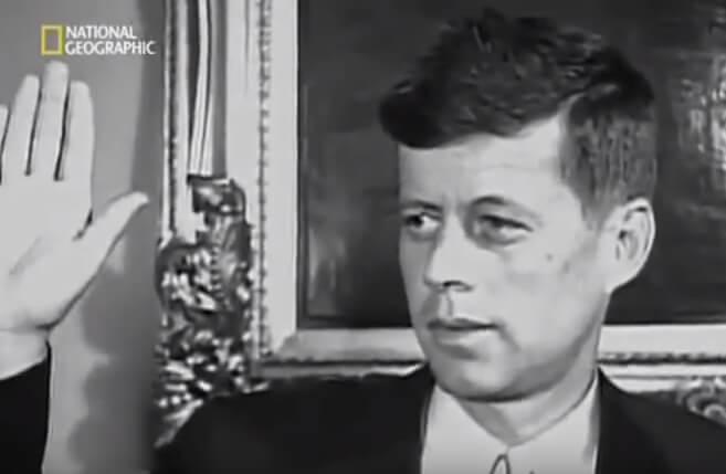 Джон Фицджеральд Кеннеди баллотируется в президенты