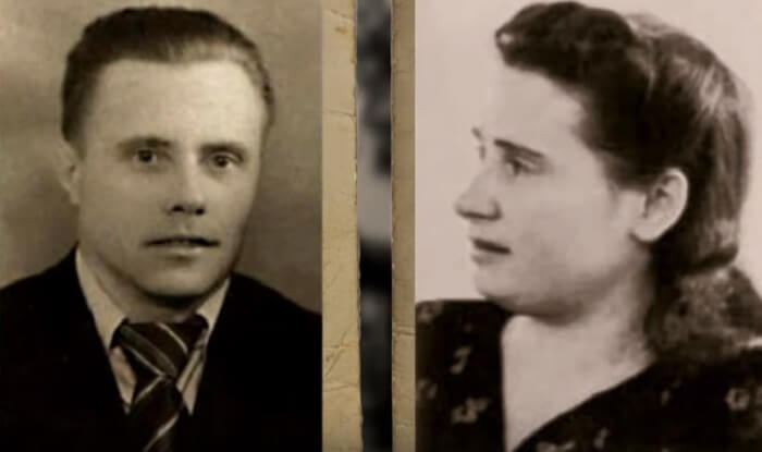 Мария Ивановна Шеломова и Владимир Спиридонович Путин