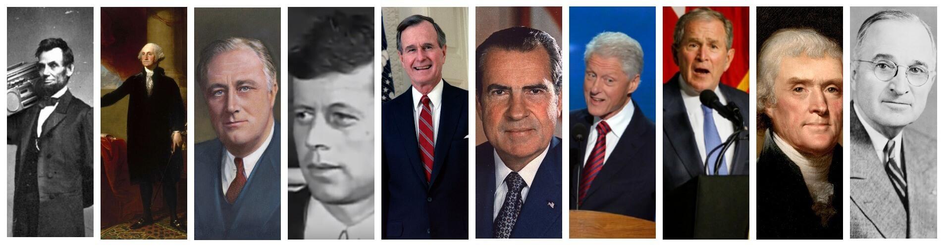 10 самых выдающихся президентов США