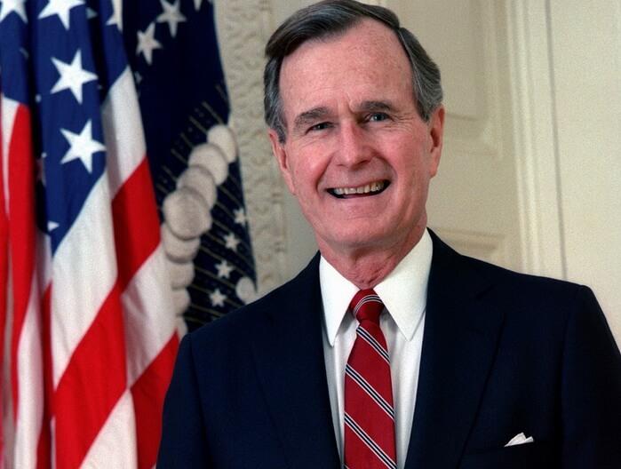 Джордж Буш-старший – 41-й президент