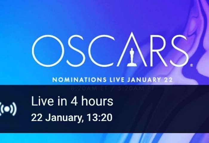 Оскар 2019. Церемония выдвижения номинантов премии