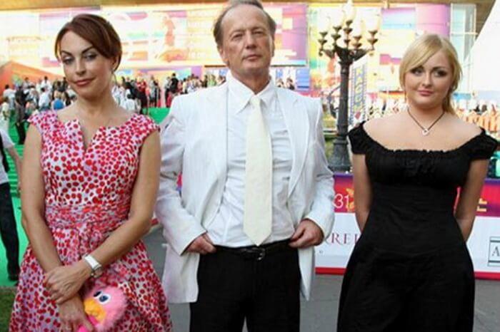 Задорнов, Елена Бомбини и дочка Елена