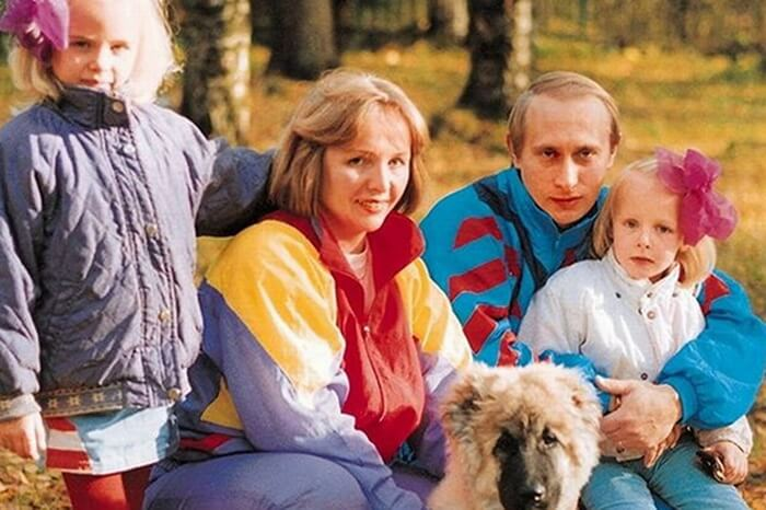 Дети Путина: дочери Маша и Катя