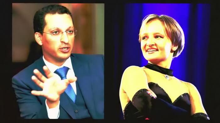 Кирилл Шамалов и Катерина Путина