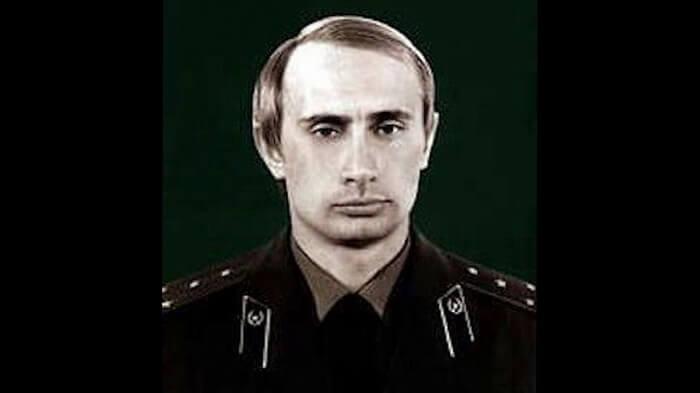 Путина работал в КГБ СССР