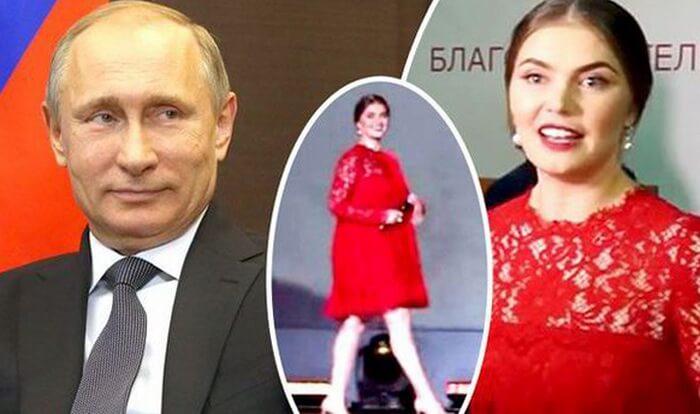 Беременная Алина Кабаева