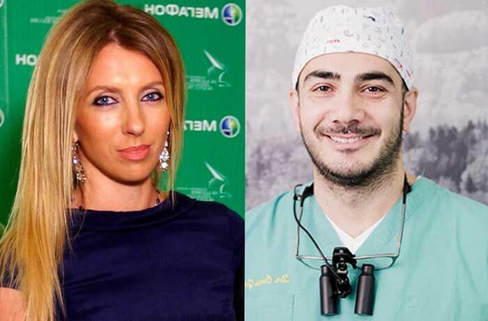 Светлана Бондарчук и Омар Газаев