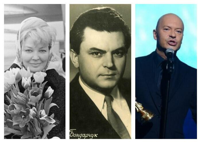 Федор Бондарчук с родителями
