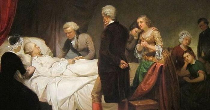 Джордж Вашингтон больной