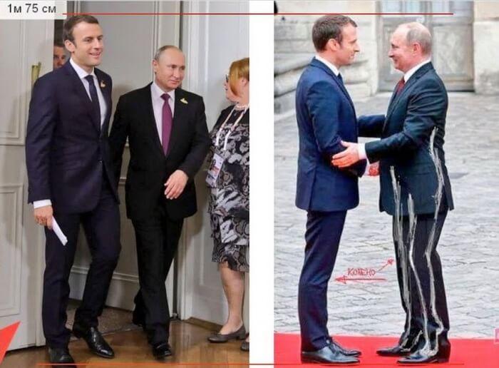 Какого роста Владимир Путин