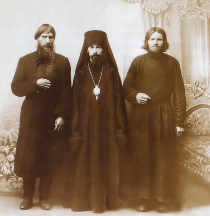 Григорий Распутин, Старец Макарий и архимандрит Феофан