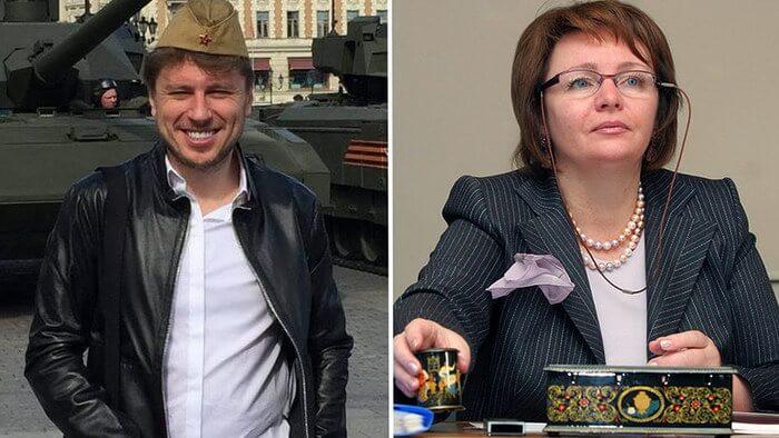 Людмила Шкребнева и Артур Очеретный