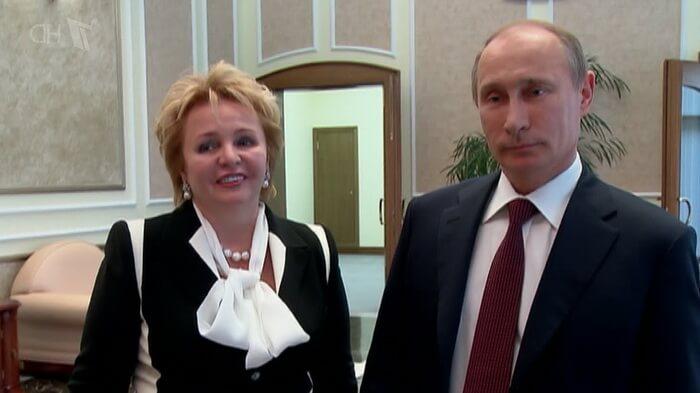 Развод Владимира Путина и Людмилы Шкребневой