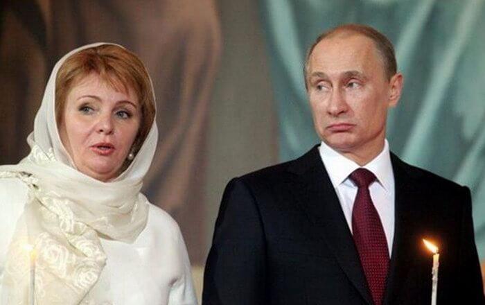 Первый брак Путина: Людмила Шкребнева