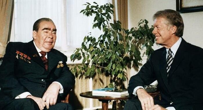 Картер и Брежнев