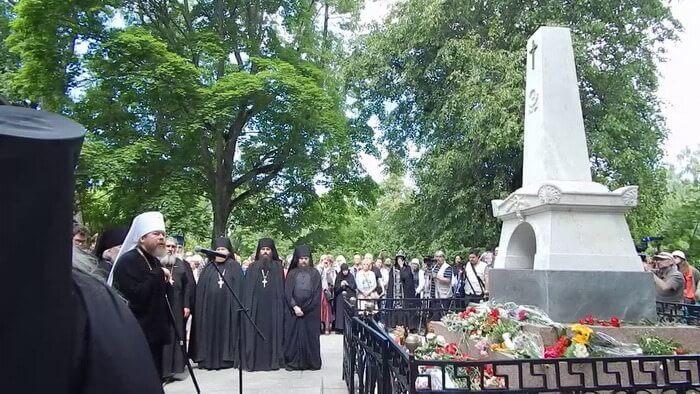 Могила Пушкина Александра Сергеевича