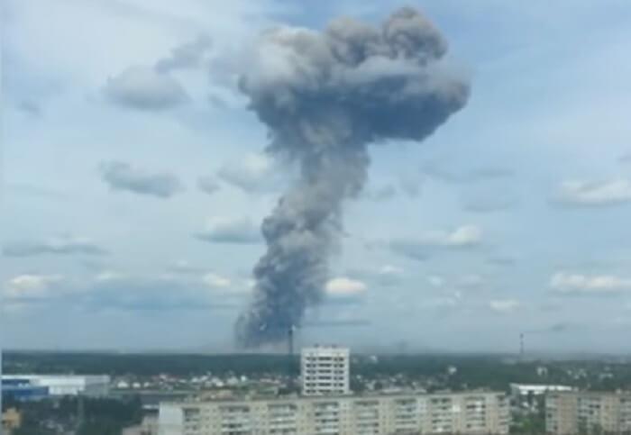 Взрыв в Дзержинске 01.06.2019