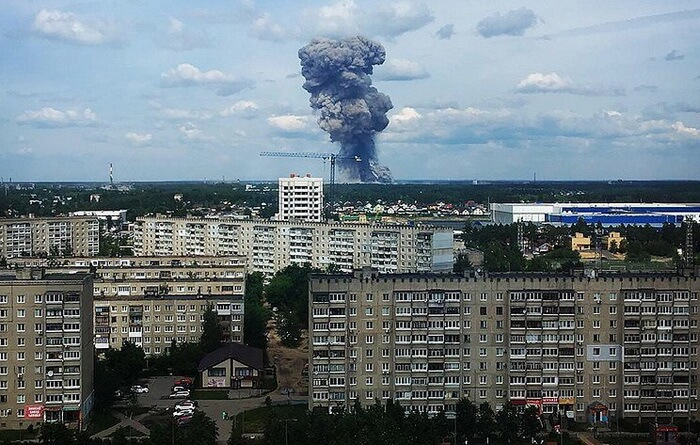 Взрыв в Дзержинске