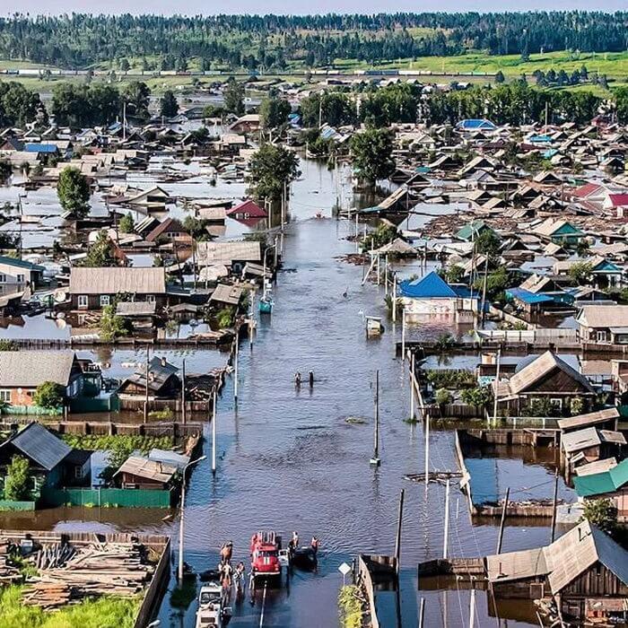 Потоп в Сибири