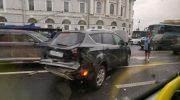 ДТП на Невском проспекте 31.07.2019. Видео и фото перевернутых машин