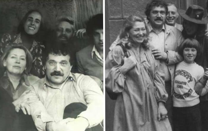 Василий Аксенов и Кира Менделева