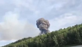Взрывы в Красноярске на военных складах 5 августа. Город Ачинск эвакуируют