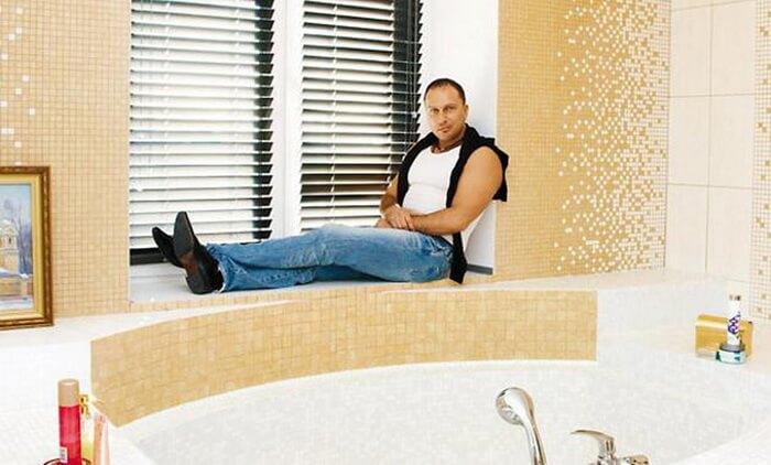 Ванная комната Нагиева