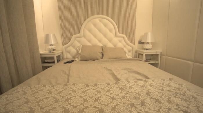 Спальня в квартире Нагиева