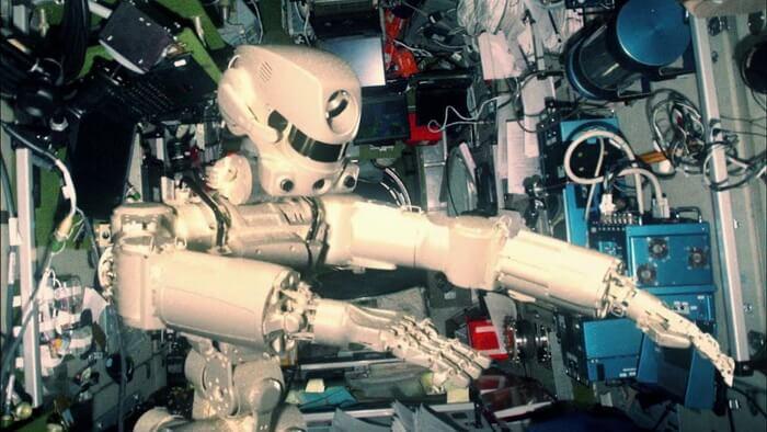 Робот Федор в космосе