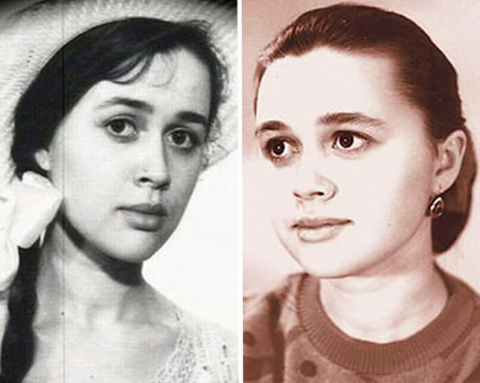 Анастасия Заворотнюк в молодости