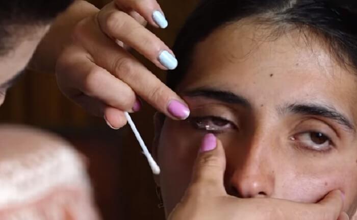 Сатеник Каразян из Армении плачет кристаллами