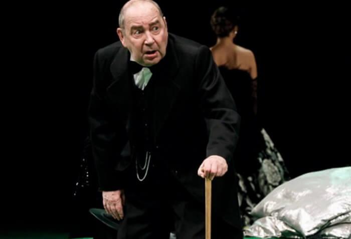 Игорь Шибанов в театре
