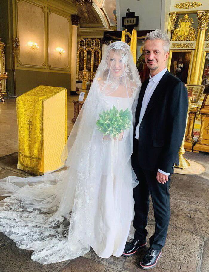 Венчание Собчак и Богомолова